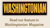Washintonian Logo, Elderly, Retirement Community in Fort Washington, MD